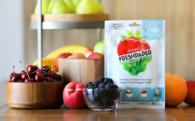 Freshglow Launches Freshpaper Produce Saver Sheets