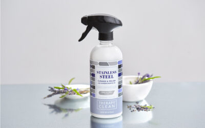 Therapy Clean Unwraps Stainless Steel Cleaner