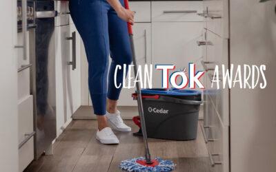 O-Cedar Debuts CleanTok Awards, Spin Mop