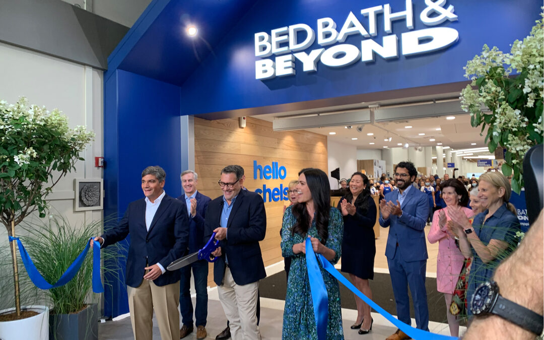 Bed Bath & Beyond Opens Remodeled Flagship Store