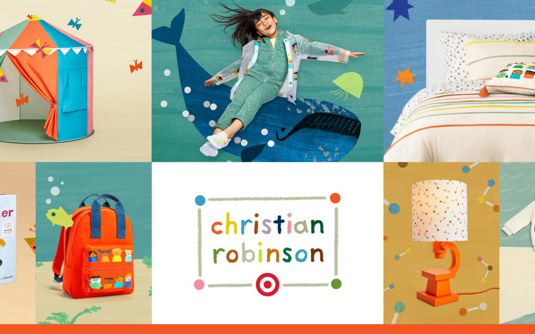 Target Draws Up Kids Collection With Illustrator Robinson
