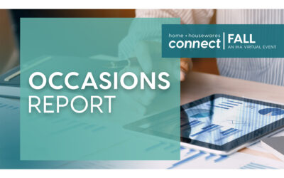 New IHA/HomePage News Study Connects Life Occasions to Housewares Purchasing
