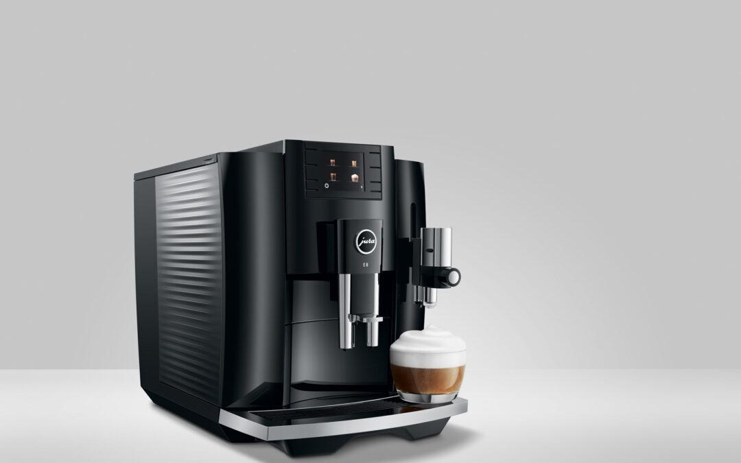 Jura Releases Next Generation E8 Coffee Machine