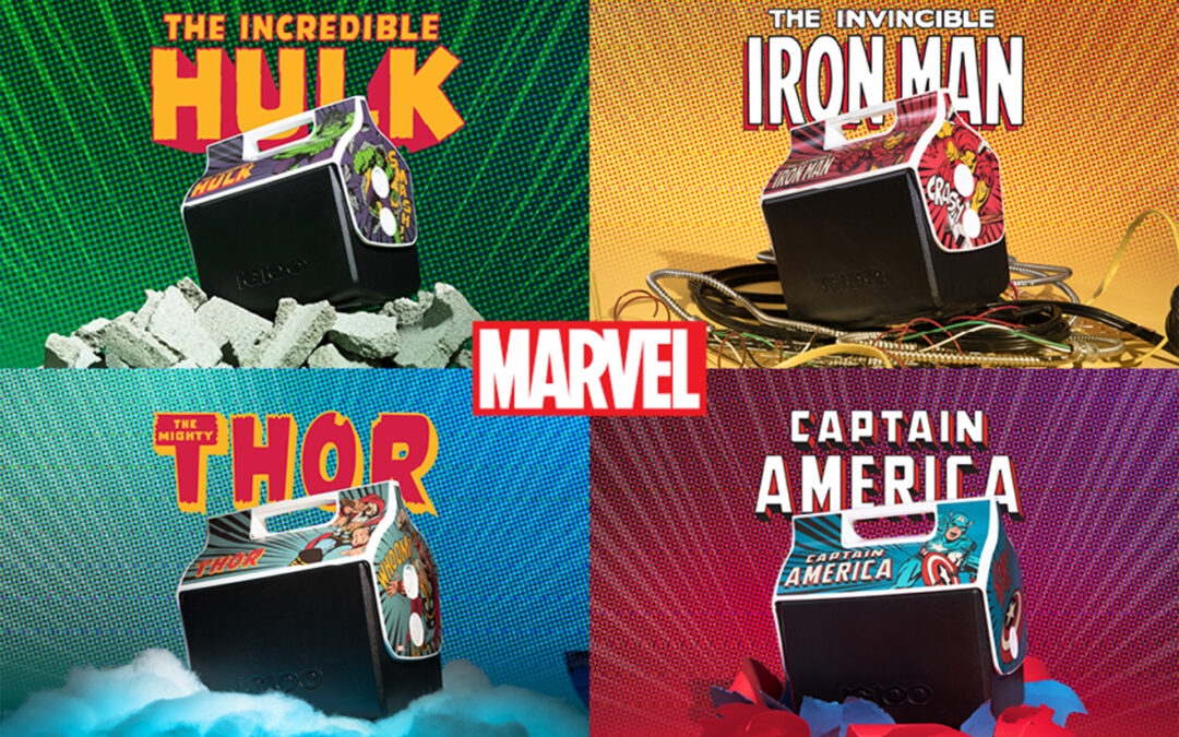 Igloo Launches Marvel Playmate Coolers