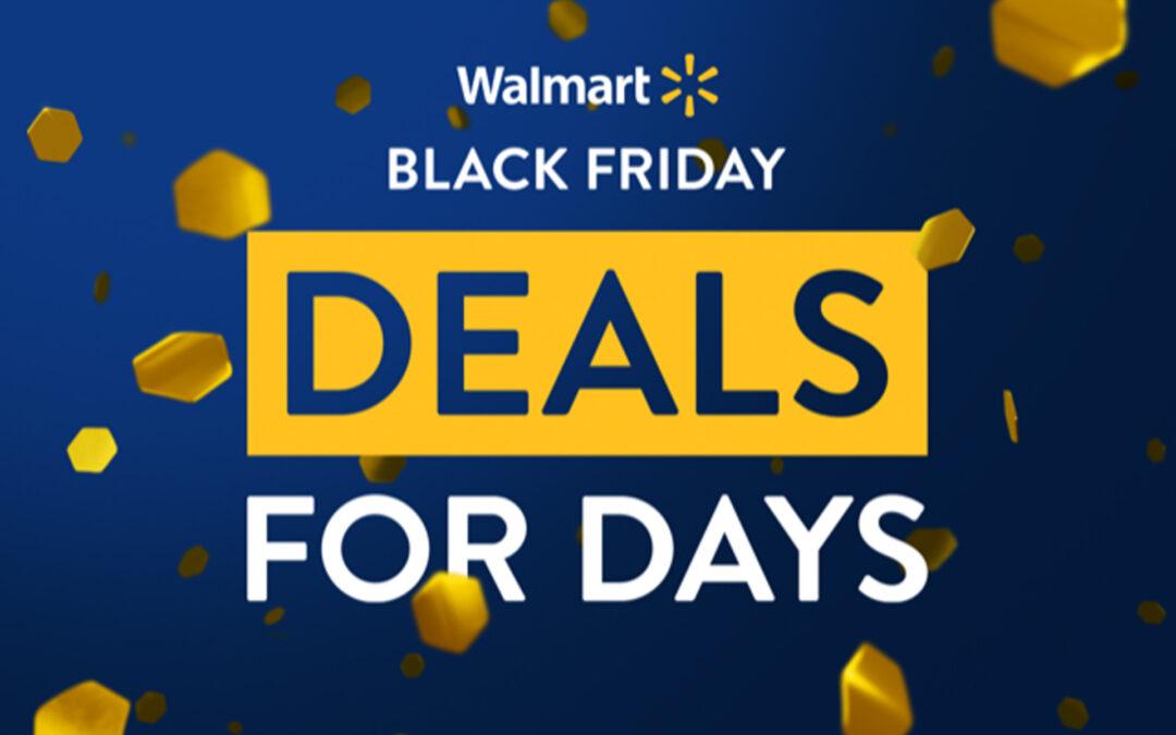Walmart Revives Deals for Days Black November Promotion